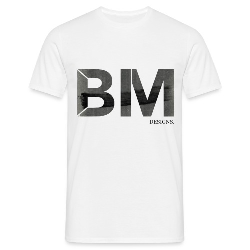 BM WITH BACK GROUND 5 - Men's T-Shirt