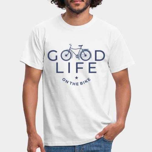 cycliste bonne vie - T-shirt Homme