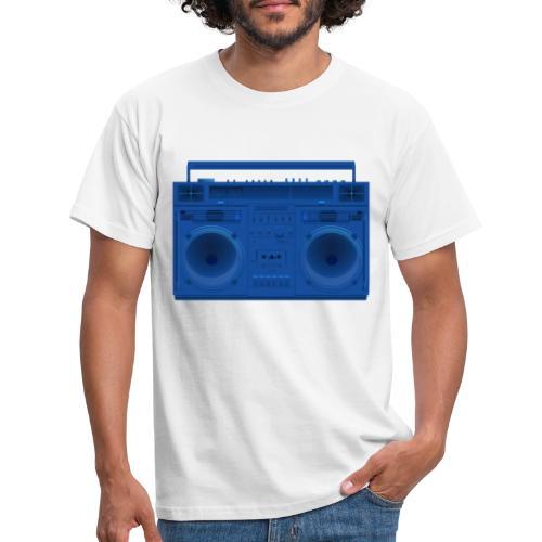 Bestes Stereo blau Design online - Männer T-Shirt