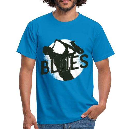 Bestes Blues Design online - Männer T-Shirt