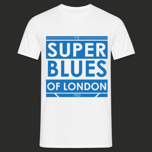 Super Blues of London Des - Men's T-Shirt