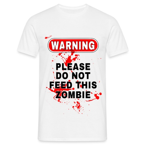 Don t Feed This Zombie - Men's T-Shirt