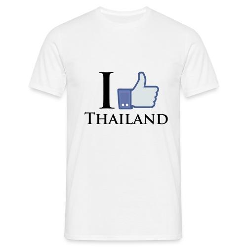 Like Thailand Weiss - Männer T-Shirt