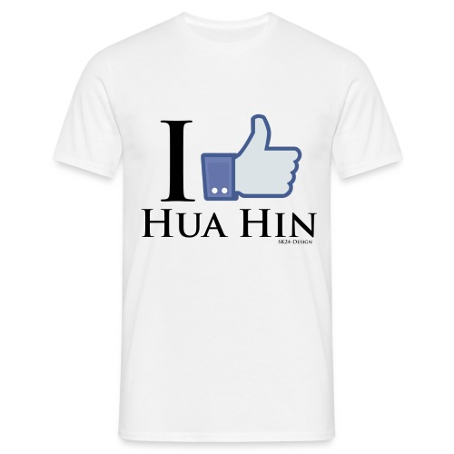 Like-Hua-Hin-Black - Männer T-Shirt