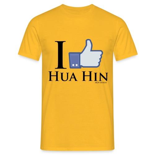 Like-Hua-Hin-Black - Männer T-Shirt