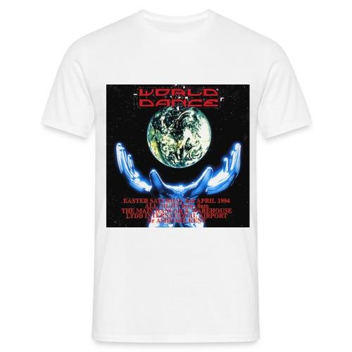 worlddance0042 - Men's T-Shirt