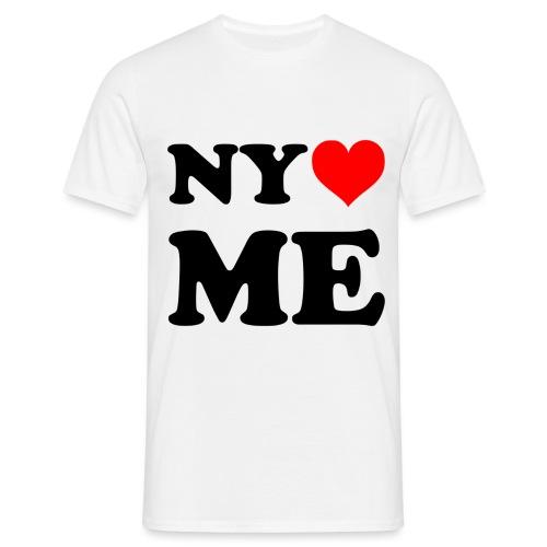 new york loves me - Männer T-Shirt