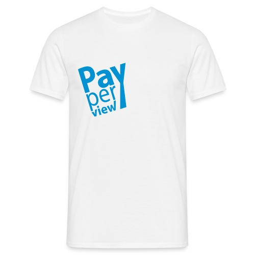 pay per view - T-shirt Homme