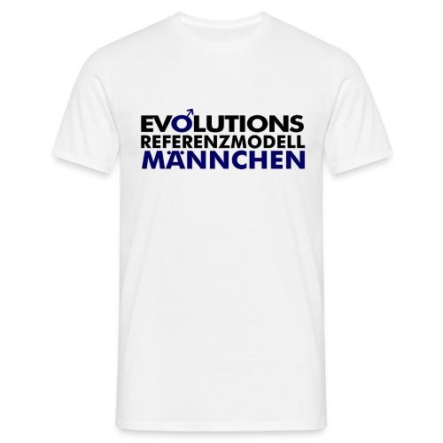 Evolutions Referenzmodell Männchen - Männer T-Shirt