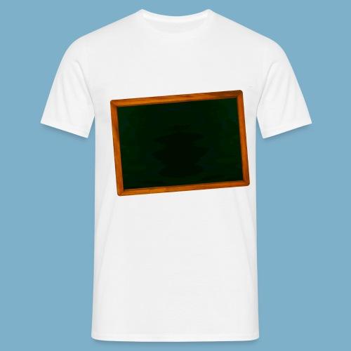 Schul Tafel - Männer T-Shirt