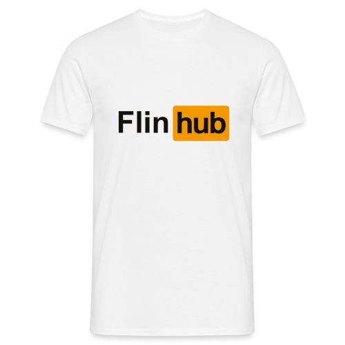 flin hub png - Men's T-Shirt