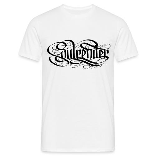 Soulrender Logo Schwarz - Männer T-Shirt