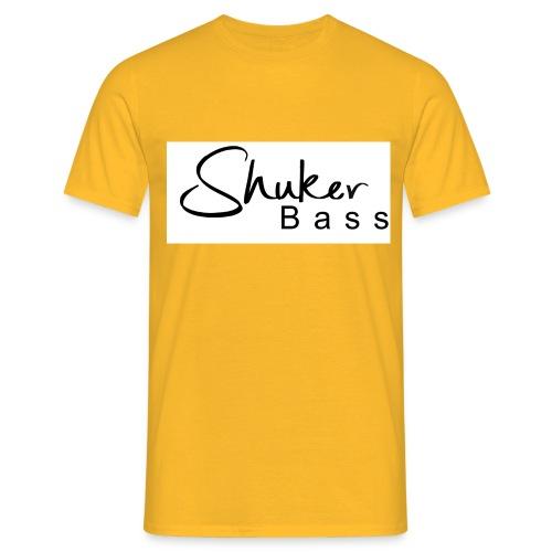 shukerscriptlogo - Men's T-Shirt