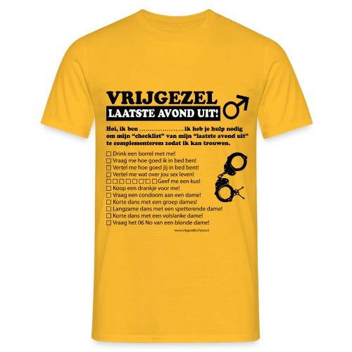 Vrijgezellenshirt man - Mannen T-shirt
