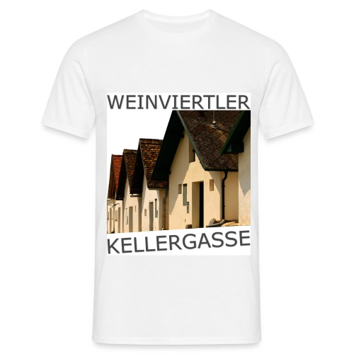 Weinviertler Kellergasse - Männer T-Shirt