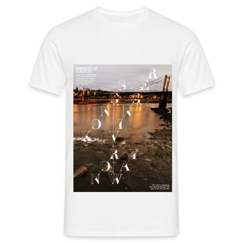 The Bridge Kongsvinger - T-skjorte for menn
