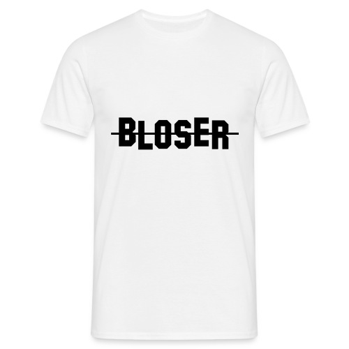 Bloser Design Black - Männer T-Shirt