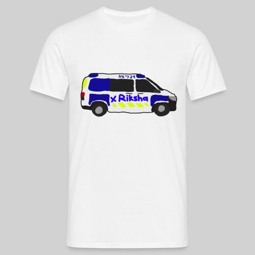 poliisiauto - Miesten t-paita