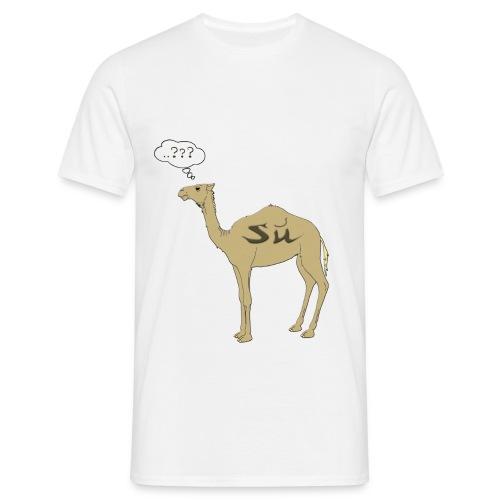 su cammello - Maglietta da uomo