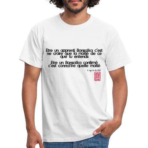 Tablier apprenti bonsaïka - T-shirt Homme