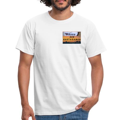 Boss der Bartagamen Brust Design + Accesoires - Männer T-Shirt