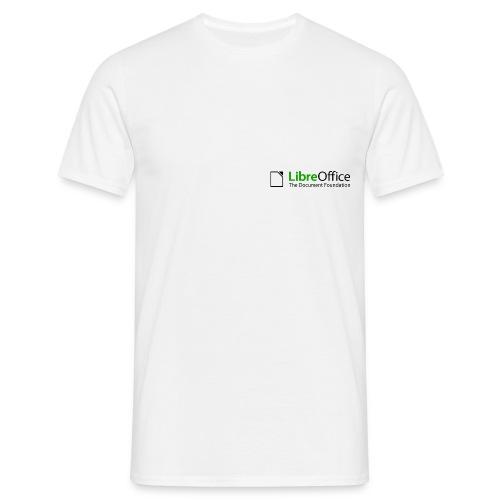 libreoffice initialartworklogo colorlogo - Herre-T-shirt
