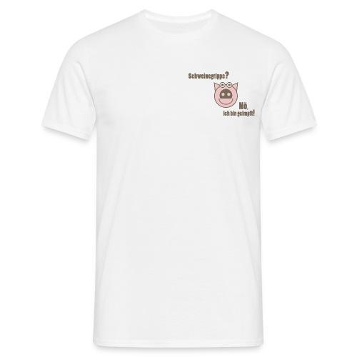 Schweinegrippe - Männer T-Shirt