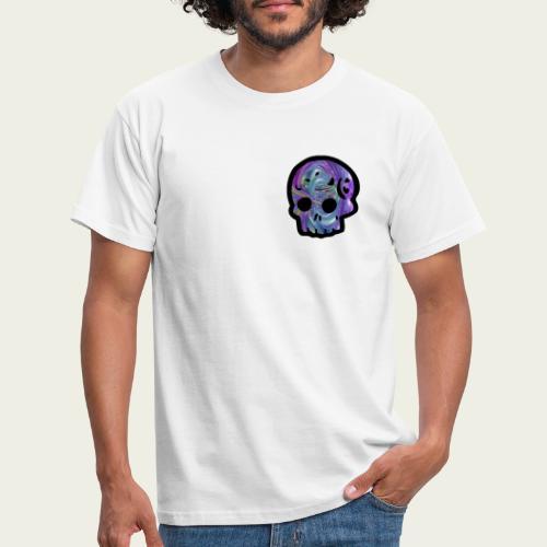Skull craneo metalico - Camiseta hombre