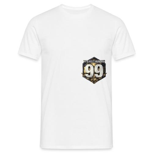 99 logo t shirt png - T-shirt herr