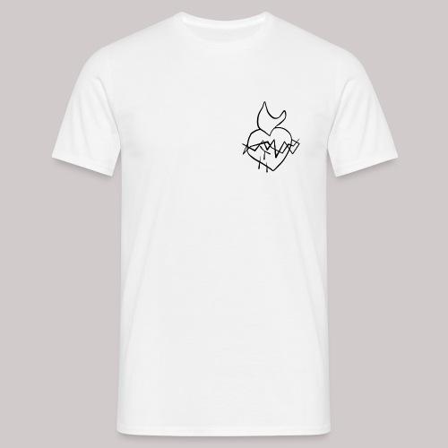 Sagrado Corazón de Jesús - Camiseta hombre