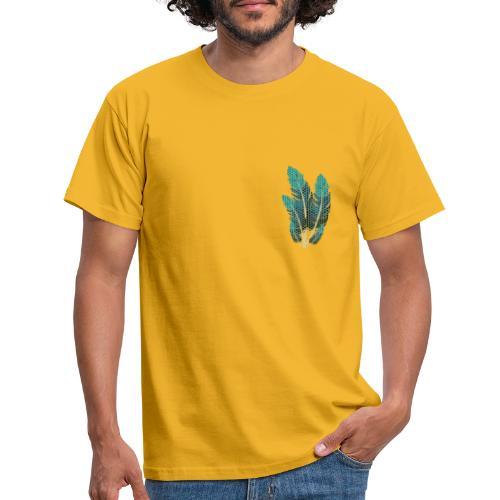 Dots Federn - Männer T-Shirt