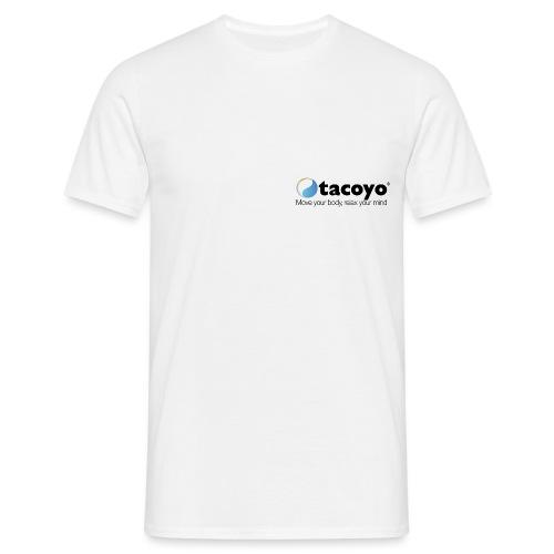 Borstlogo ZWART inclusief move your body - Mannen T-shirt
