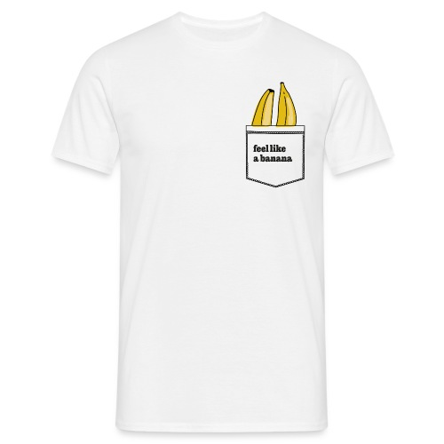 banana in my pocket - Männer T-Shirt