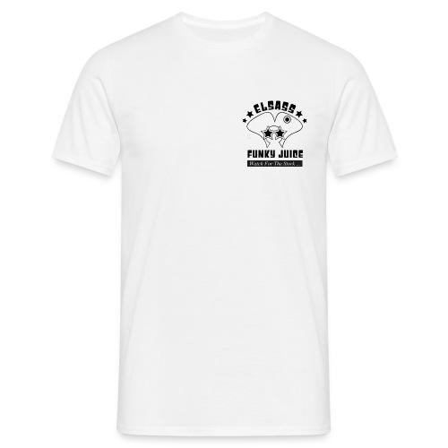 etiquette sachet - T-shirt Homme
