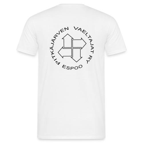 pitvalogo ilmantaustaa - Miesten t-paita