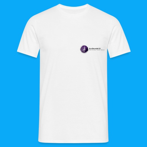 Logo KeyRecords EU - Männer T-Shirt