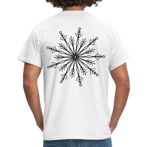 winterkind the mastermind snowflake - Männer T-Shirt