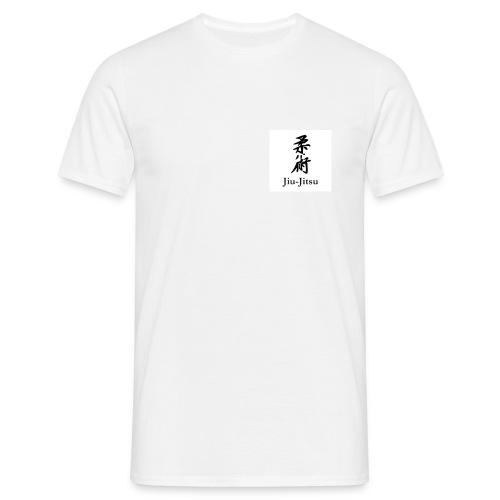 Jiu-Jitsu (Japanse karakters) - Mannen T-shirt
