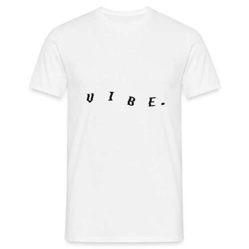 VIBE. 'VIBE.' Black Design - Men's T-Shirt