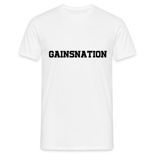 Kortärmad tröja Gainsnation - T-shirt herr