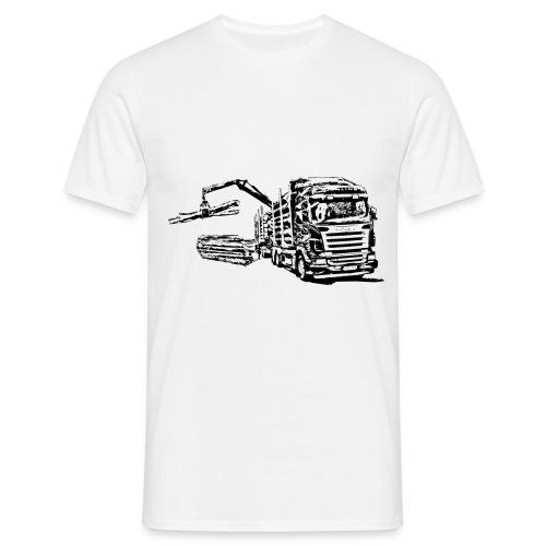 HOLZ png - Männer T-Shirt
