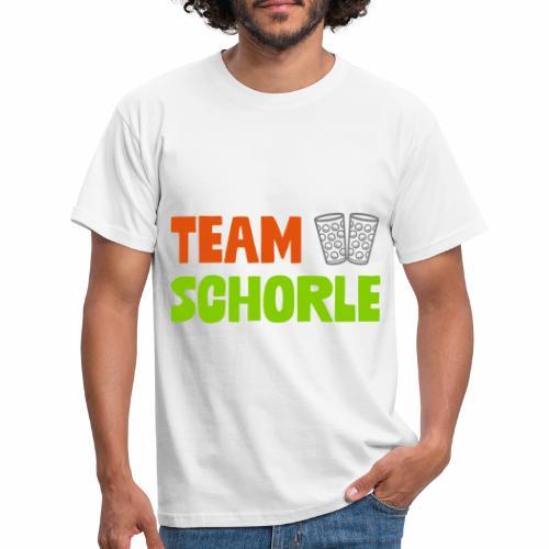 Team Schorle und Dubbegläser - Männer T-Shirt