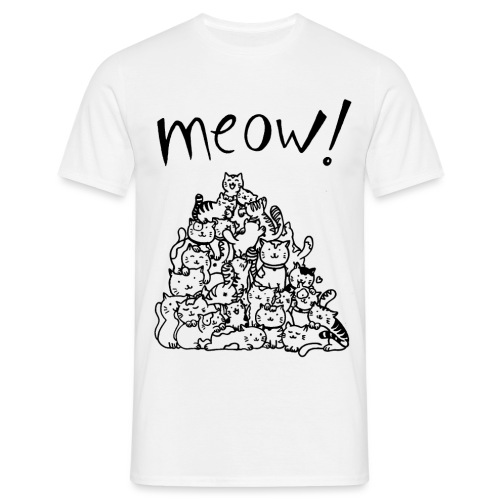 Meow! - Camiseta hombre