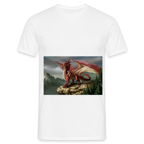 DragonRed jpg - Men's T-Shirt