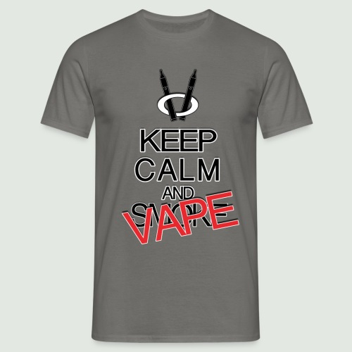 keep calm and vape - T-shirt Homme