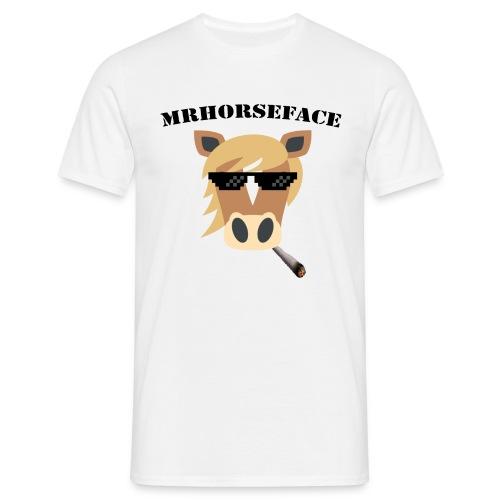 MrHorseFace - Mannen T-shirt