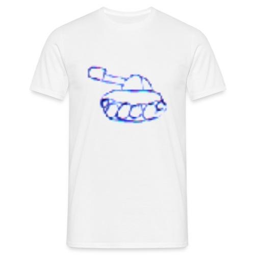pixeltank - Panzer T-Shirt - Männer T-Shirt