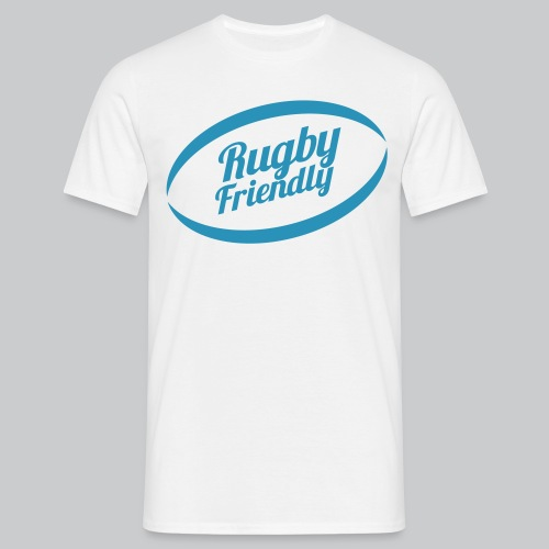 Logo Rugby Friendly Casq - T-shirt Homme
