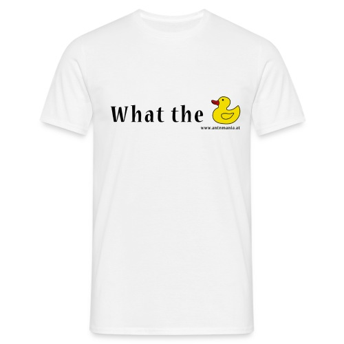 Whattheduck png - Männer T-Shirt