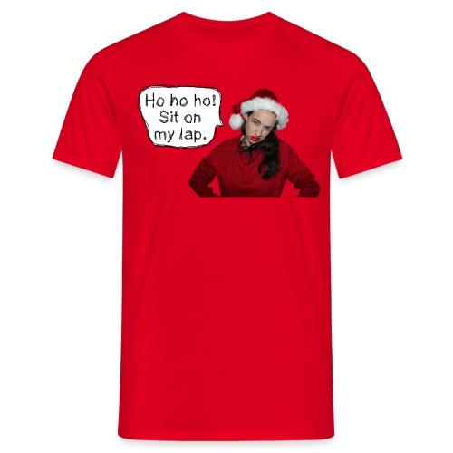 sitonmylap02 - Men's T-Shirt